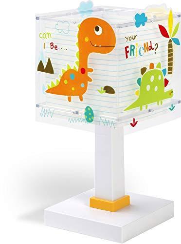 Decoracion Cumplea/ños Navidad Regalos de Mujer Bebes Hombre Ni/ños Amigas QiLiTd Regulable L/ámpara de Noche de Atm/ósfera Modo RGB LED L/ámpara de Mesa 3D Dinosaurio con Control Remoto Sensor Tacto